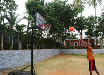 Basketball at Celebrity Resort Coimbatore