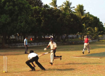 Cricket game in Coimbatore