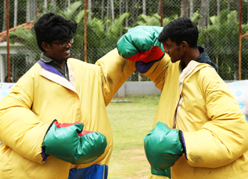 Sumo Fight at Celebrity Resorts in Coimbatore
