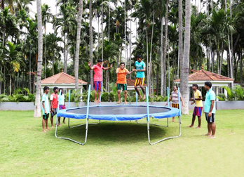 Trampoline at Celebrity Resort
